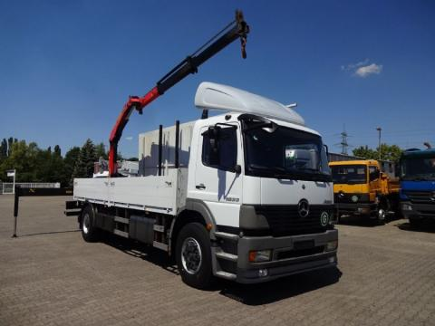 Camion Mercedes châssis Atego 818 Euro 5 occasion
