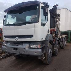 Camion Renault benne Kerax 420 DCI 6x4 Gazoil Euro 3 grue occasion